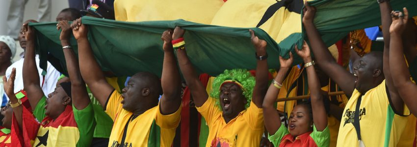 Ghanaian supporters. Photo Getty Images