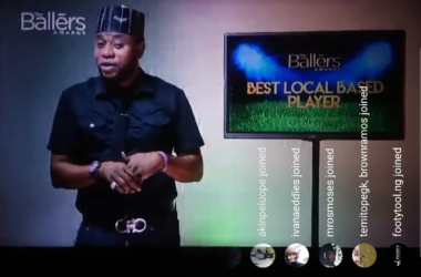 Naijafootballers broadcasts The Ballers Awards via Instagram Live