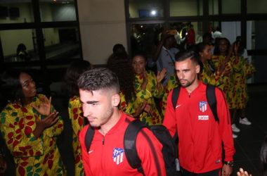 Atletico Madrid visit Nigeria